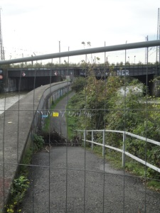 DSC04402 Baustelle Eisenbahnbrücke Top