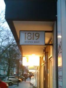 cafe 1819