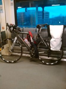 bike in train